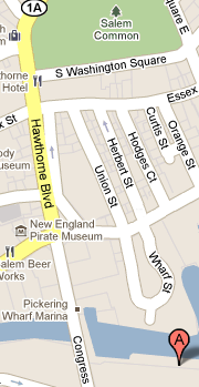Detail map of office location